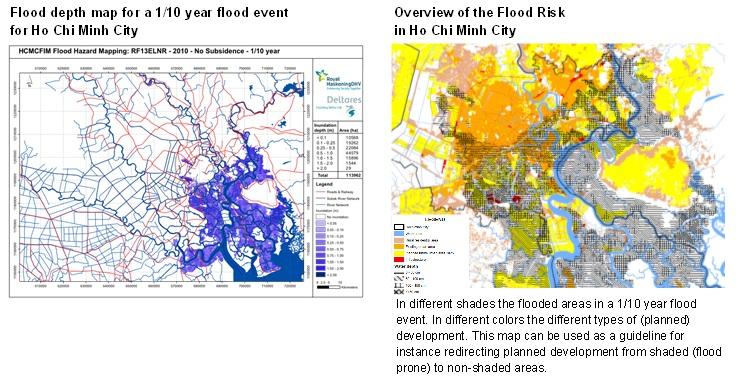 Flood Maps for Ho Chi Minh City