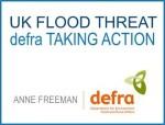 defra taking action - UK flood threat