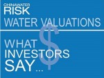Water Risk Valuations - What Investors Say