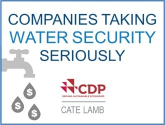 Companies Taking Water Security Seriously